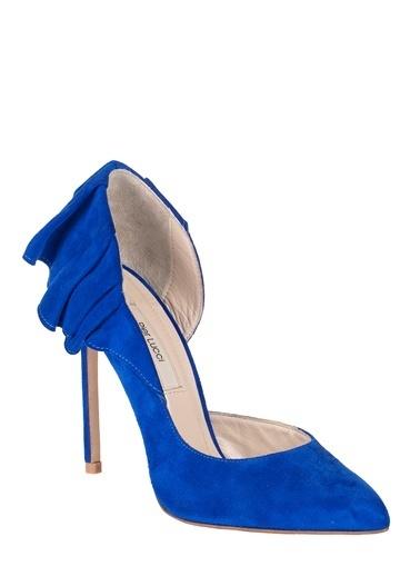 Pier Lucci Topuklu Ayakkabı Mavi